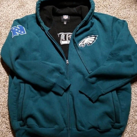 the latest 84509 b45c7 Eagles zip up hoodie